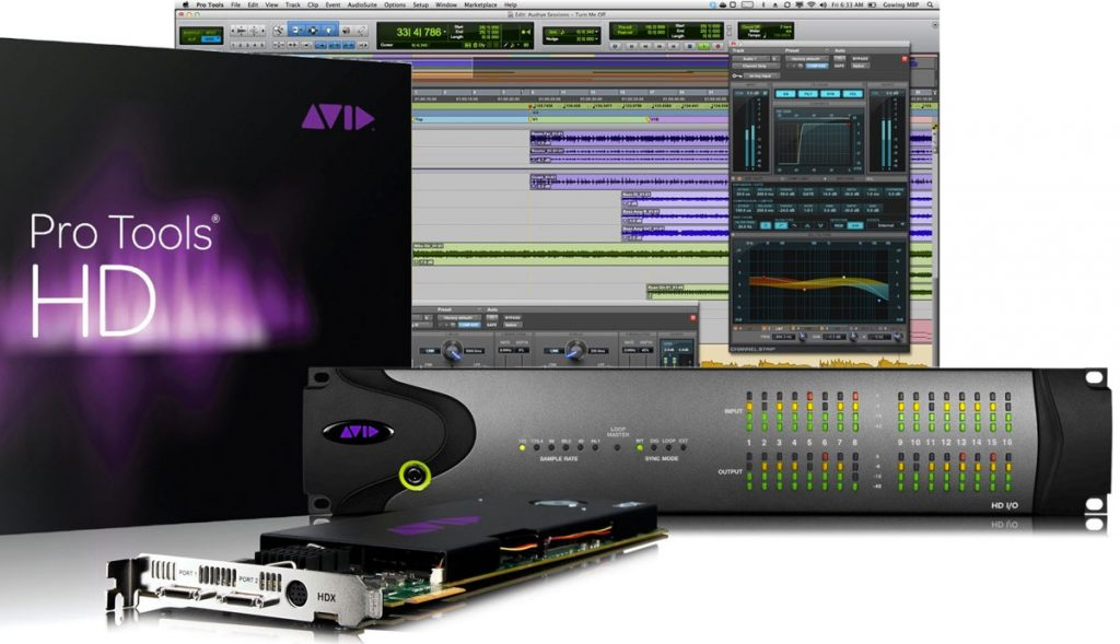AVID Pro Tools HDX I/O