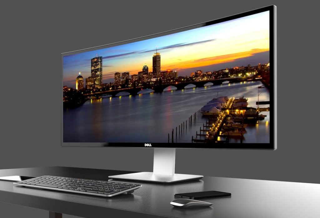 Dell 34″ Curved Ultrawide Screen Monitor
